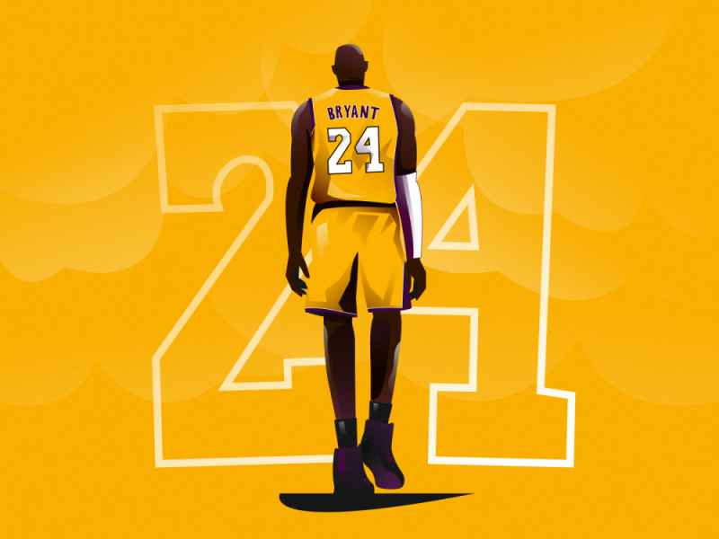 Behance Artists Pay Tribute to Kobe Bryant with Their Artworks