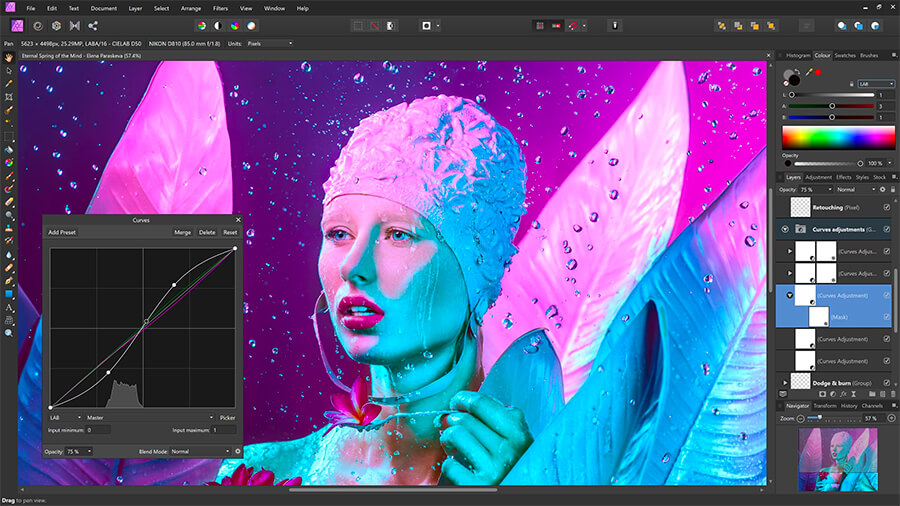 Affinity Photo - The Best Alternatives to Photoshop for Artist